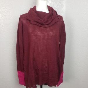 Prana Pomegranate Rochelle Sweater Large NWT